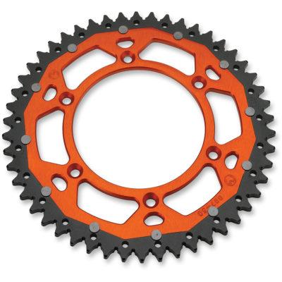Moose Alu-Stahl Kettenrad KTM SX/EXC 125 250 300 350 450 – orange