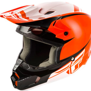Fly Racing Helmet Kinetic Sharp orange-black