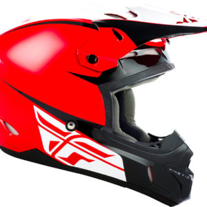 Fly Racing Helmet Kinetic Sharp red-black
