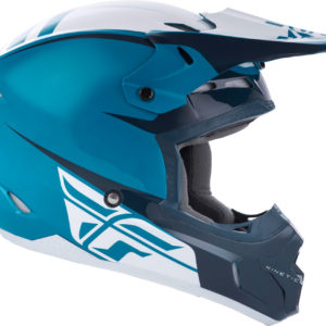 Fly Racing Helmet Kinetic Sharp teal-blue