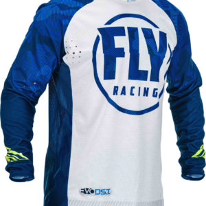 Fly Racing Jersey Evolution DST blue-white