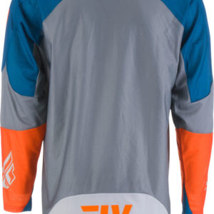 Fly Racing Jersey Evolution DST navy-grey-orange