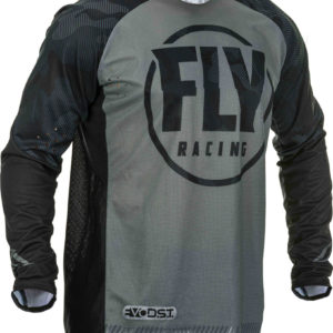 Fly Racing Jersey Evolution DST black-grey