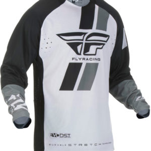 Fly Racing Jersey Evolution DST black-white