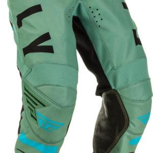 Fly Racing Pant Kinetic K120 Kids sage green-black