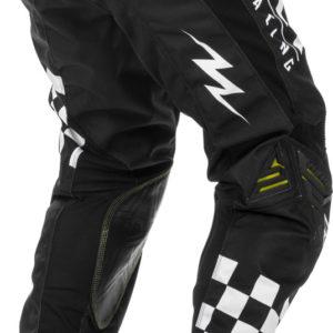 Fly Racing Pant Kinetic Rockstar black-white