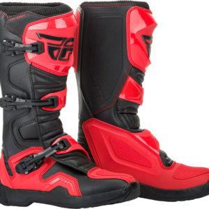 Fly Racing Stiefel Maverik II red-black