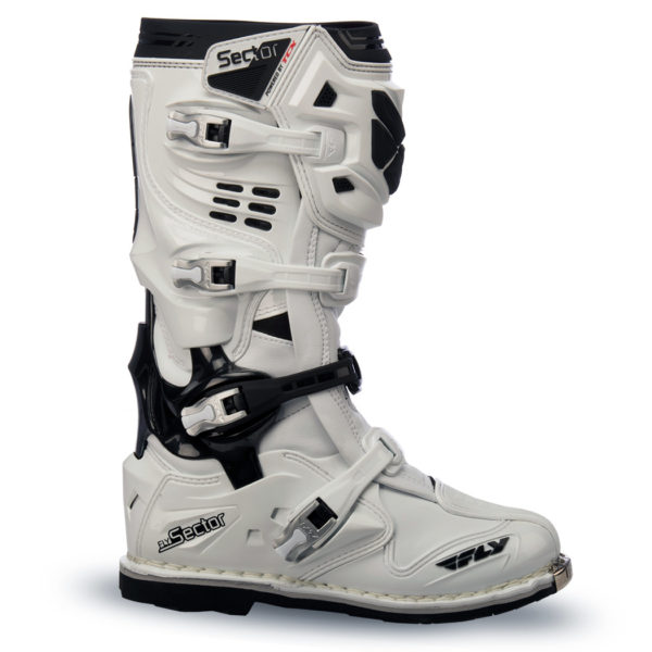Fly Racing Stiefel Sector white
