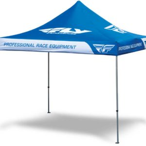 Fly Racing Tent blue 3x3m