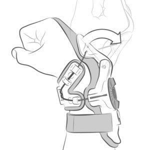 Mobius Wrist Brace X8