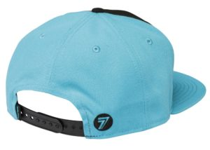 Seven Cap Brand black light blue