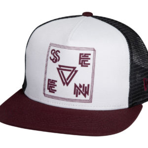 Seven Cap Vector white steel