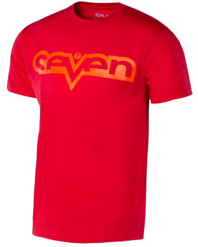 Seven T-Shirt Kinder Brand red