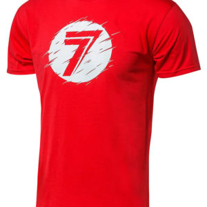 Seven T-Shirt Kinder Dot red