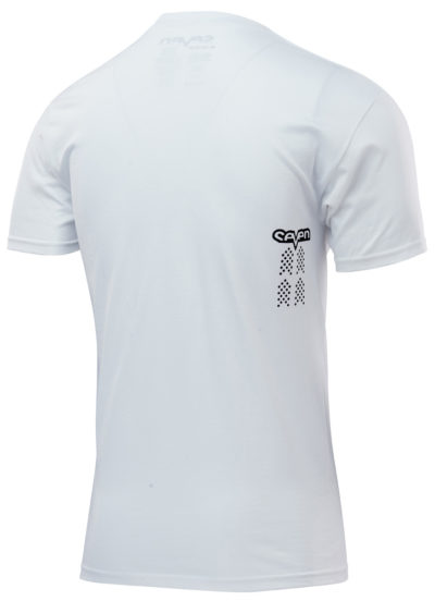 Seven T-Shirt Kinder Dot white checkmate
