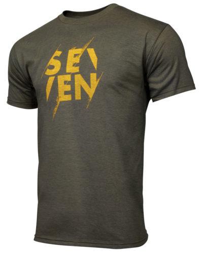 Seven T-Shirt Vapor heather army