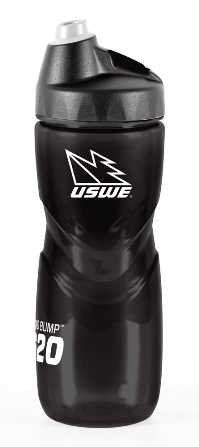 USWE Sports Trinkflasche Head Bump schwarz 620 ml