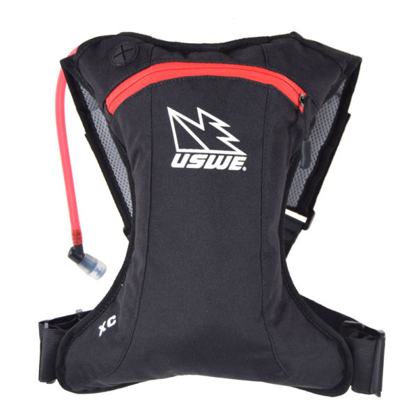 USWE Sports XC Hydropack schwarz-rot 1,5 Liter