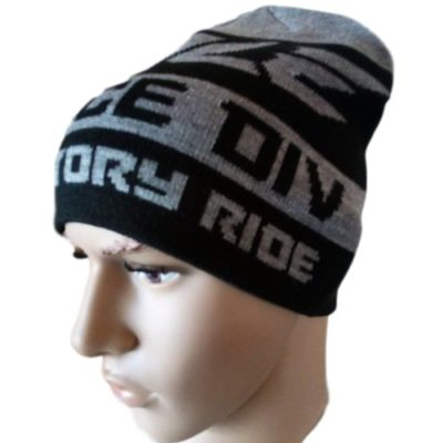 Ihle Racing Beanie Wintermütze – black/grey