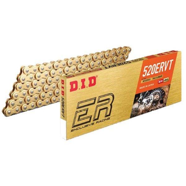 DID Kette 520 ERVT X-Ring 118G gold