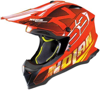 Nolan N53 Helm – Whoop Led orange – L