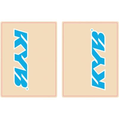 FLU Gabel Sticker Schutzfolie KYB