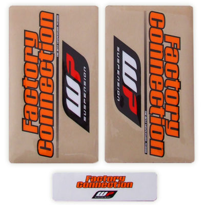 Factory Connection Gabel Sticker WP / KTM