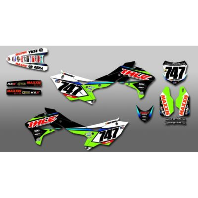 Ihle Racing SX Dekorkit 2015/2016 KAWASAKI KXF