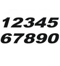 ZAP Startnummern USA Style