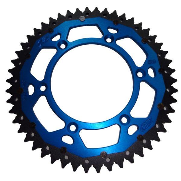 ZF Alu-Stahl Kettenrad KTM SX/EXC / Husqvarna TE/FE – blau