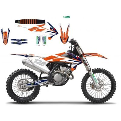 BLACKBIRD Graphics Kit KTM MARCHETTI RACING TEAM `16