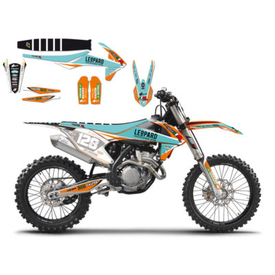 BLACKBIRD Graphics Kit KTM Leopard Marchetti `17
