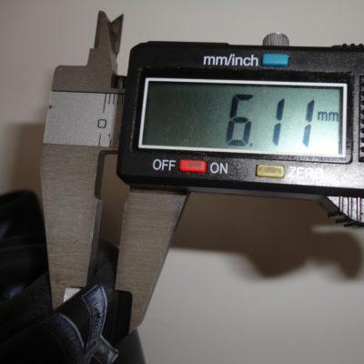 verstärkter Schlauch 3mm 4.25/4.50-18, 140/80-18