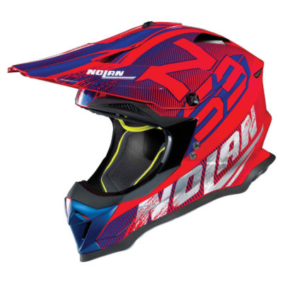 Nolan N53 Helm – Whoop corsa red – M