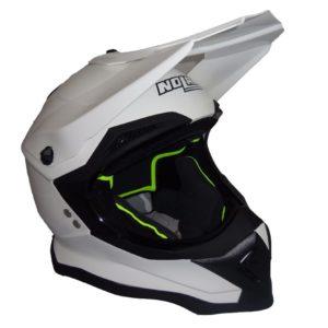 Nolan N53 Helm solid weiss