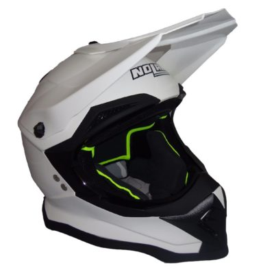 Nolan N53 Helm solid weiss