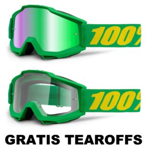 100% –  Accuri Brille – Forrest / GRATIS TEAROFFS