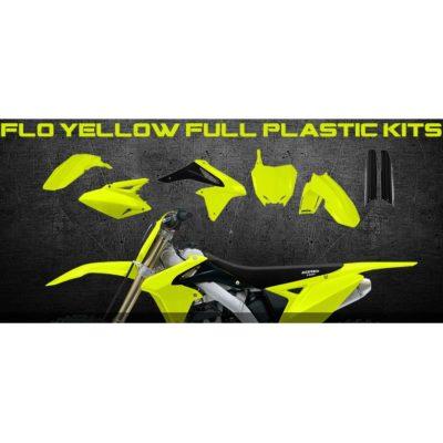 Acerbis Full Kit Plastiksatz Suzuki RMZ 250/10-16 – neongelb