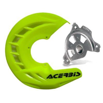 Acerbis X-Brake Bremsscheibenschutz – neongelb RMZ 07-