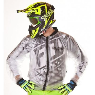 Crosskrank Regenjacke transparent