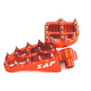Zap E-Peg Fußrasten orange KTM
