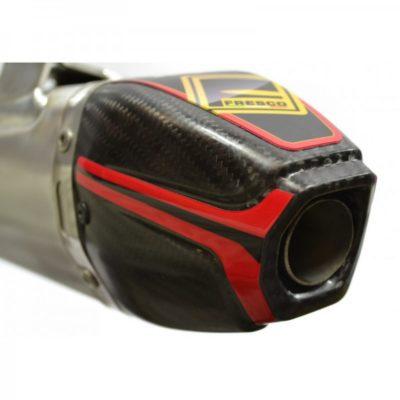 Fresco Schalldämpfer Yamaha YZ 125 06-18