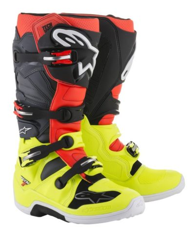Alpinestars Tech 7 Boots – fluo yellow /red