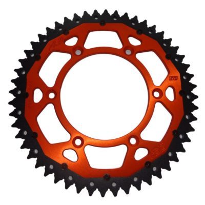 Moose Alu-Stahl Kettenrad KTM SX/EXC – orange