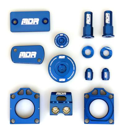 MDR Bling Kit Kawasaki KXF 250 11- / 450 06- blau