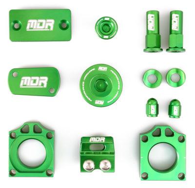 MDR Bling Kit Kawasaki KXF 250 11- / 450 06- grün