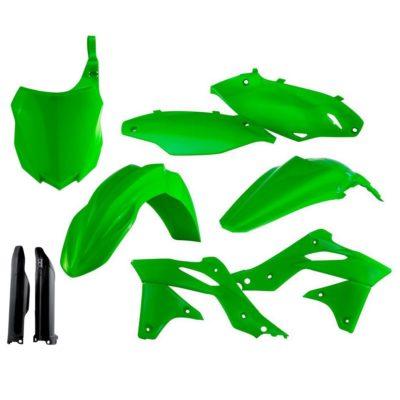 Acerbis Full Kit Plastiksatz Kawasaki KXF 450 13-15 – neongr&uum