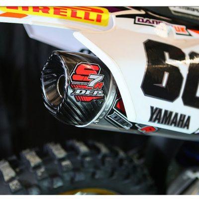 DEP 4 Takt S7R Carbon Yamaha YZF 450 14- / Slip ON
