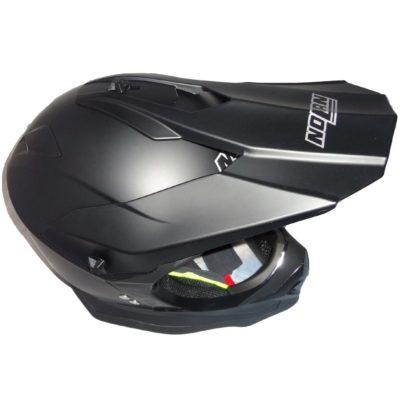 Nolan N53 Helm schwarz metallic