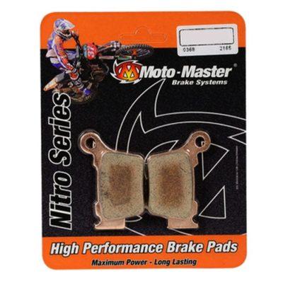 Moto Master Hinterrad Bremsbeläge – Nitro